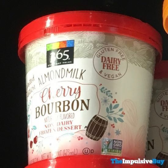 365 Everyday Value Limited Edition Almondmilk Cherry Bourbon Frozen Dessert