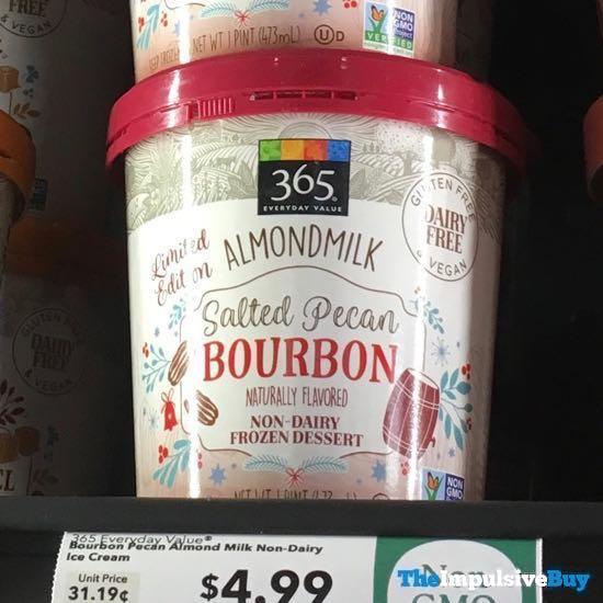 365 Everyday Value Limited Edition Almondmilk Salted Pecan Bourbon Frozen Dessert