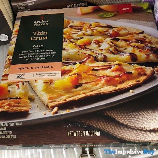 Archer Farms Peach  Balsamic Thin Crust Pizza