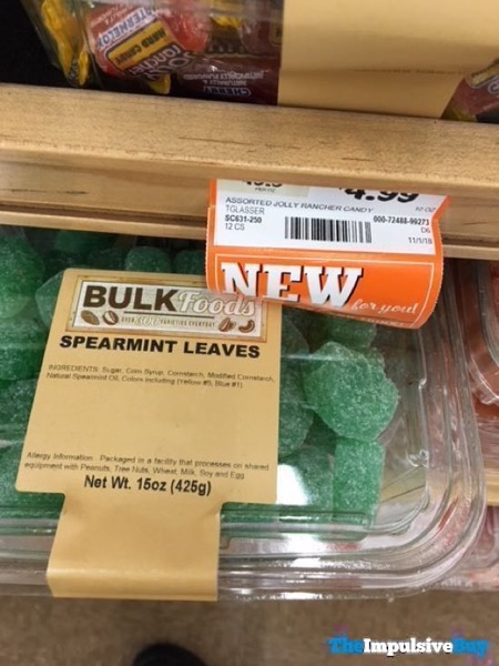 Bulk Foods Spearmint Leaves