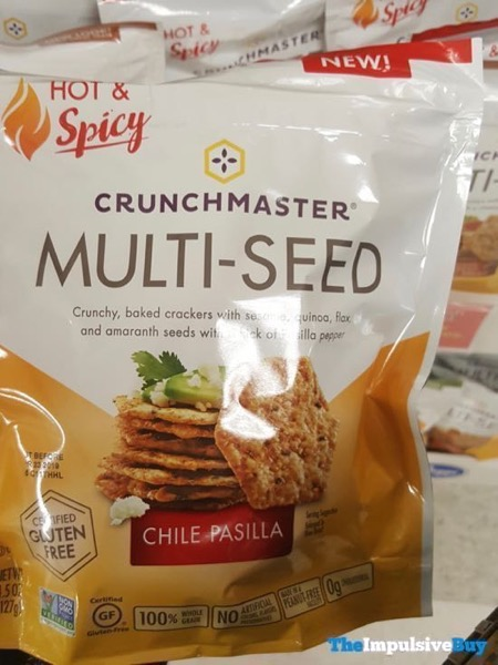 Crunchmaster Multi Seed Hot  Spicy Chile Pasilla Crackers