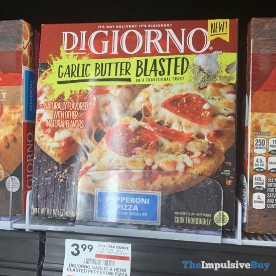 DiGiorno Garlic Butter Blasted Pepperoni Pizza