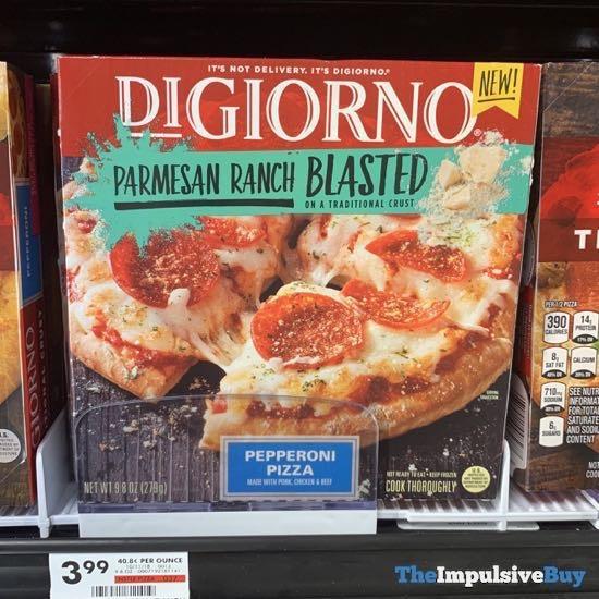 DiGiorno Parmesan Ranch Blasted Pepperoni Pizza