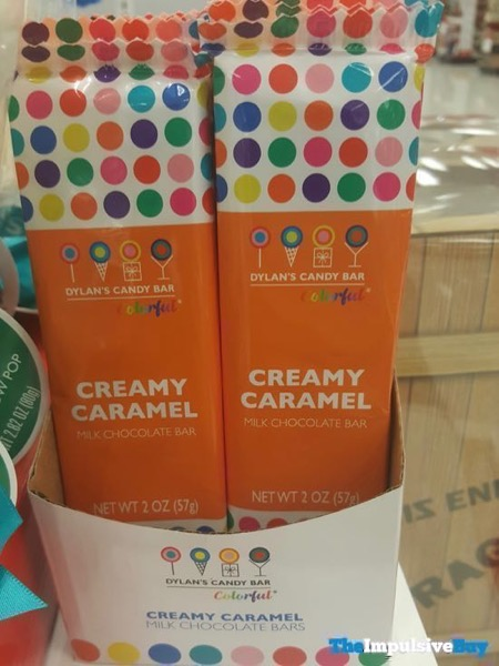 Dylan s Candy Bar Colorful Creamy Caramel Milk Chocolate Bar