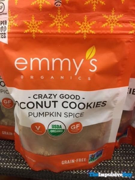 Emmy s Organics Pumpkin Spice Coconut Cookies