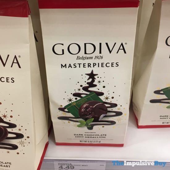 Godiva Masterpieces Dark Chocolate Mint Medallion