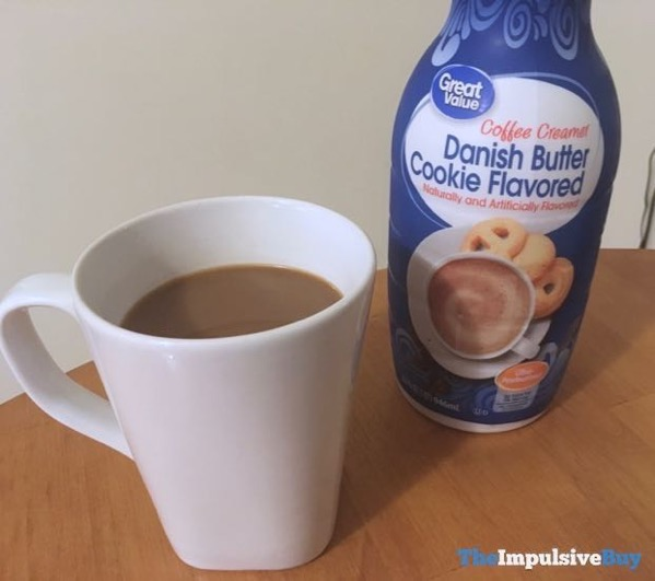 Great Value Danish Butter Cookie Coffee Creamer 2