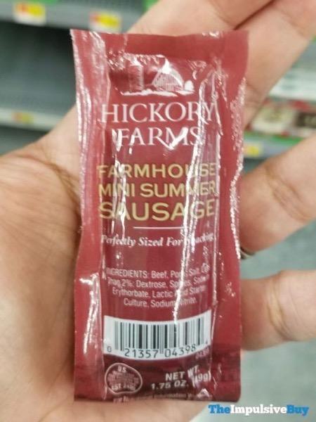 Hickory Farms Farmhouse Mini Summer Sausage