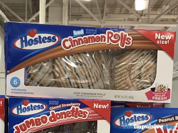 Hostess Iced Cinnamon Rolls New Size