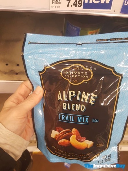 Kroger Private Selection Alpine Blend Trail Mix