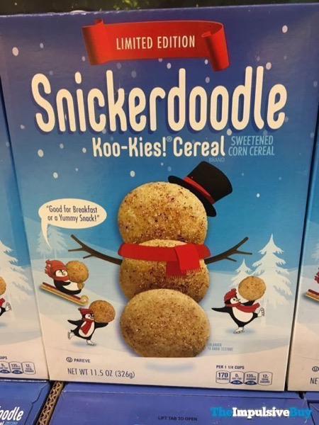 Limited Edition Snickerdoodle Koo Kies Cereal
