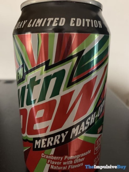 Mtn Dew Holiday Limited Edition Merry Mash Up