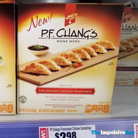 P F Chang s Home Menu Firecracker Chicken Dumplings