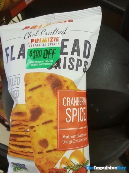 Primizie Flatbread Crisps Cranberry Spice