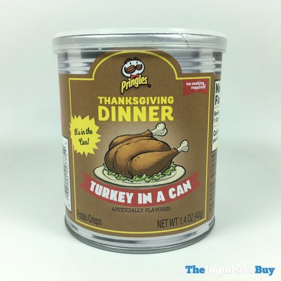 Pringles Thanksgiving Dinner Turkey in Can
