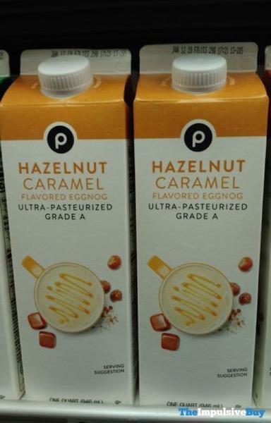 Publix Hazelnut Caramel Eggnog
