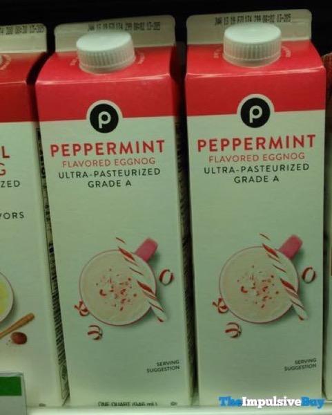 Publix Peppermint Eggnog