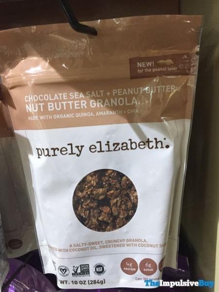 Purely Elizabeth Chocolate Sea Salt + Peanut Butter Nut Butter Granola