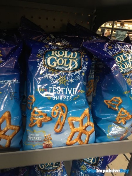 Rold Gold Pretzels Festive Shapes