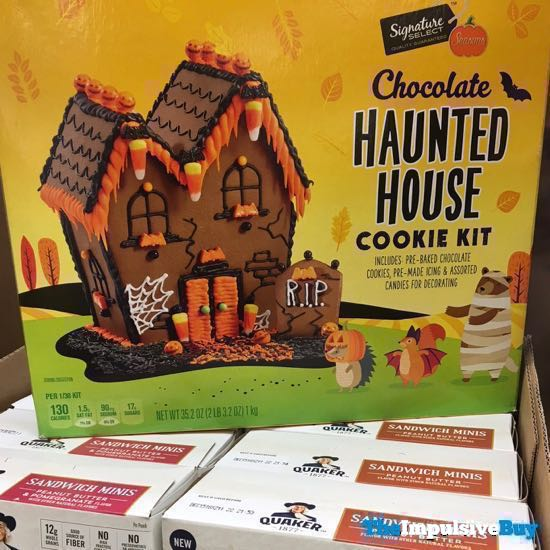 Signature Select Seasons Chocolate Haunted House Cookie Kit