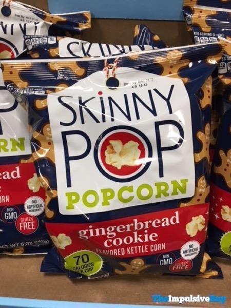 Skinny Pop Gingerbread Cookie Popcorn