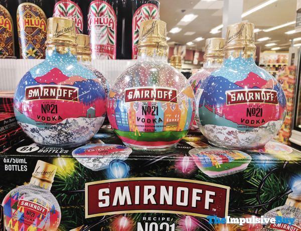 Smirnoff Recipe No 21 Vodka Limited Edition Holiday Designs