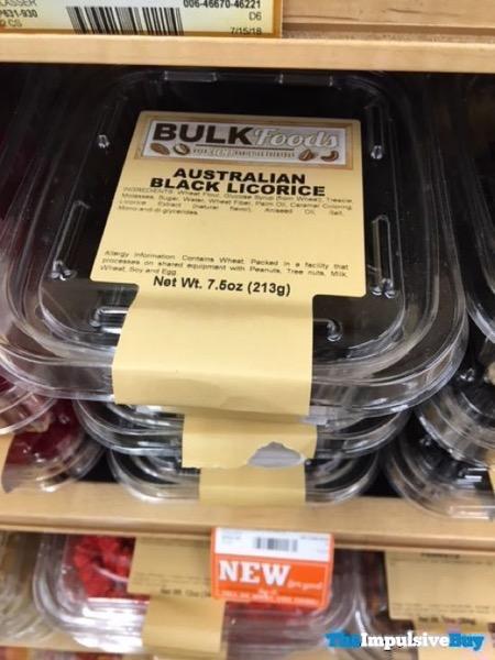 Sprouts Bulk Foods Australian Black Licorice