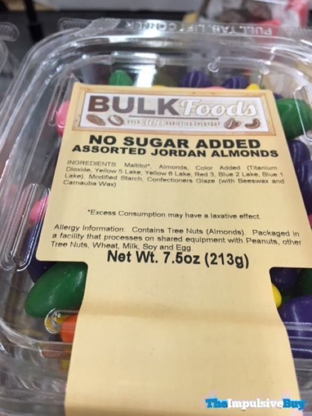 Sprouts Bulk Foods No Sugar Added Assorted Jordan Almonds