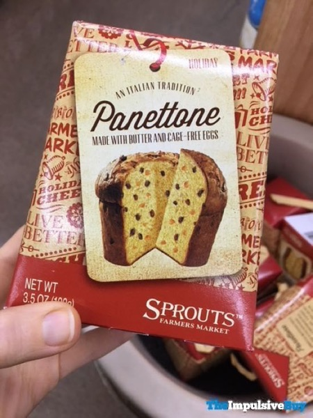 Sprouts Panettone