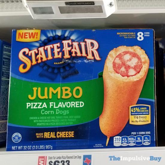 State Fair Brand Jumbo Pizza Flavored Corn Dogs