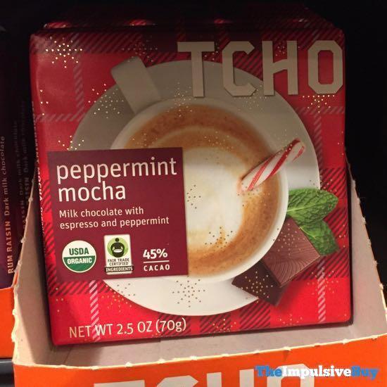 TCHO Peppermint Mocha Bar