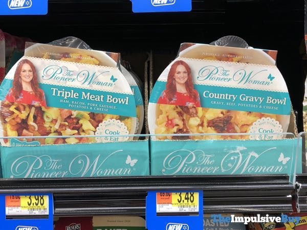 The Pioneer Woman Triple Meat and Country Gravy Bowls