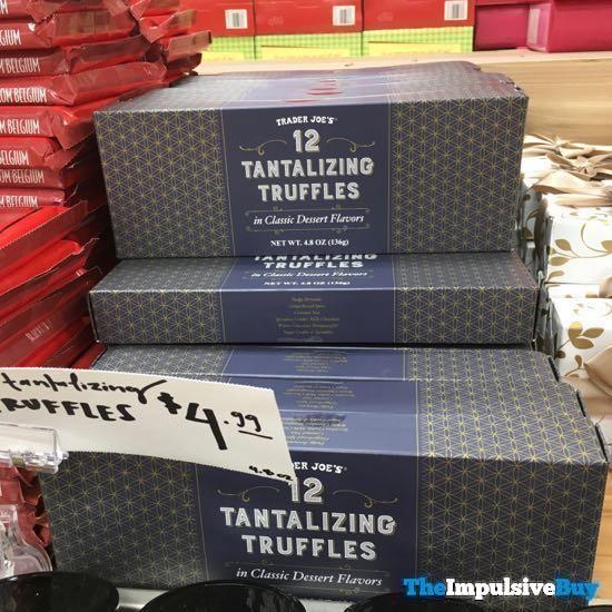 Trader Joe s 12 Tantalizing Truffles in Classic Dessert Flavors