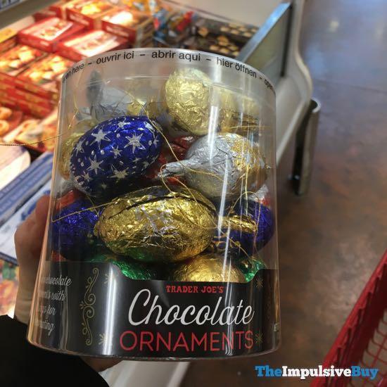 Trader Joe s Chocolate Ornaments