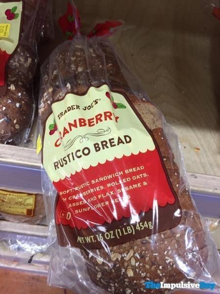 Trader Joe s Cranberry Rustico Bread