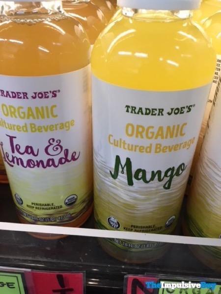 Trader Joe s Organic Cultured Beverage Tea  Lemonade