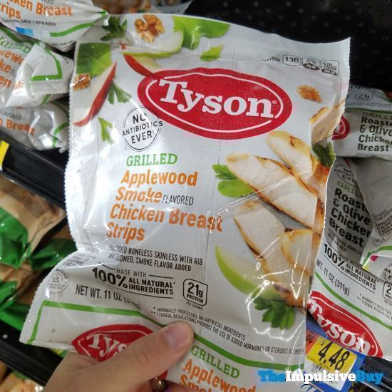 Tyson Grilled Applewood Smoke Chicken Breast Strips