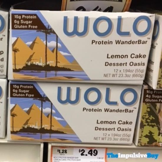 Wolo Protein WanderBar Mint Chocolate Chip