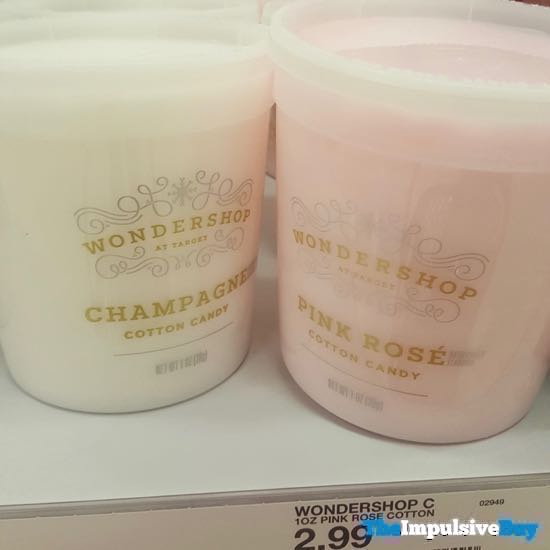 Wondershop at Target Champagne and Pink Rose Cotton Candy