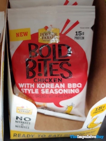 Foster Farms Bold Bites Chicken with Korean BBQ Style Seasoning