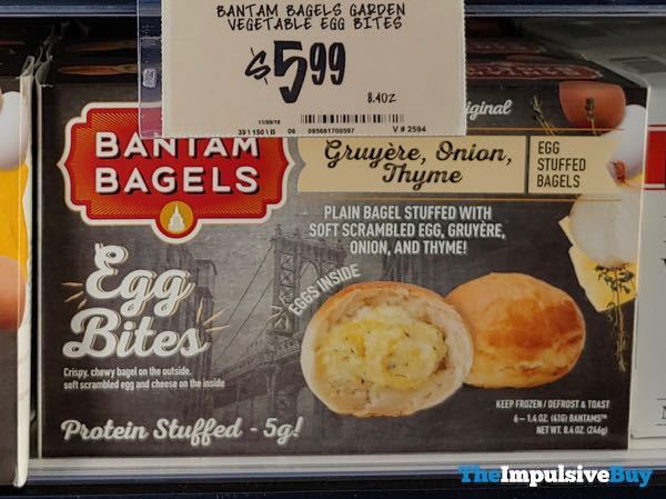 Bantam Bagels Gruyere, Onion, Thyme Egg Bites