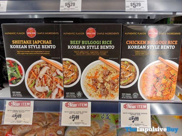 uji's Korean Cuisine Korean Style Bento (Shiitake Japchae, Beef Bulgogi Rice, and Chicken Bulgogi Rice)