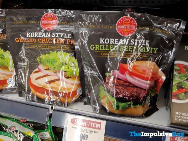 Suji's Korean Cuisine Korean Style Grilled Chicken and Grilled Beef Patties