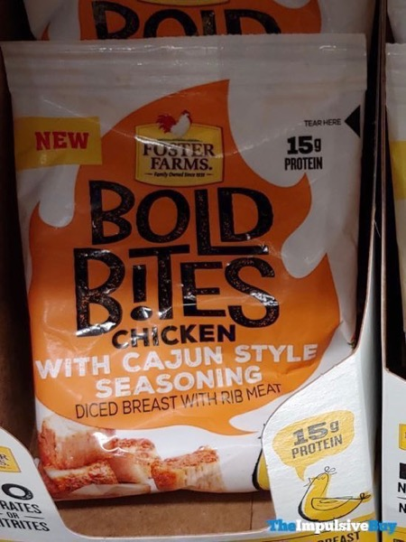 Foster Farms Bold Bites Chicken with Cajun Style Seasoning