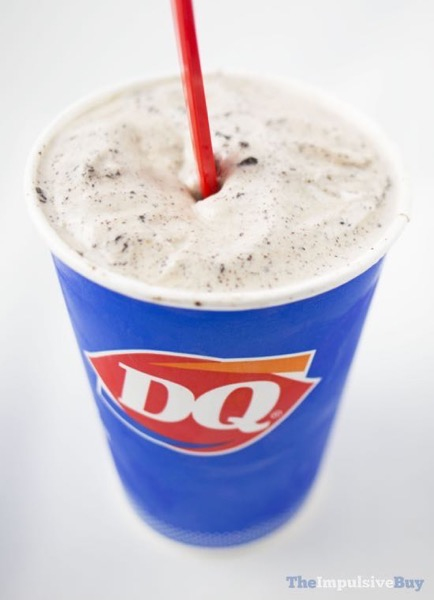 Dairy Queen Secret Menu Coffee Oreo Blizzard