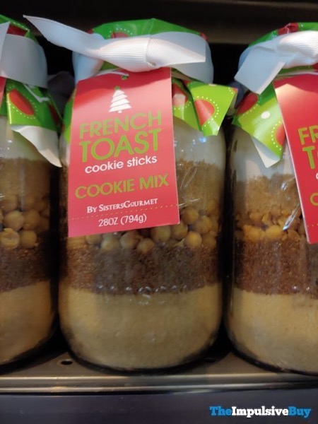 Sisters Gourmet French Toast Cookie Sticks Cookie Mix