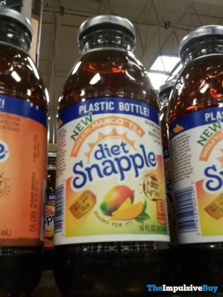 Diet Snapple Takes 2 to Mango Tea