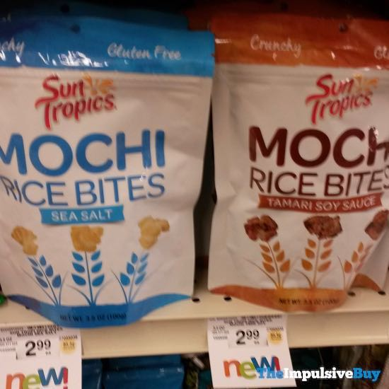 Sun Tropics Moch Rice Bites  Sea Salt and Tamari Soy Sauce
