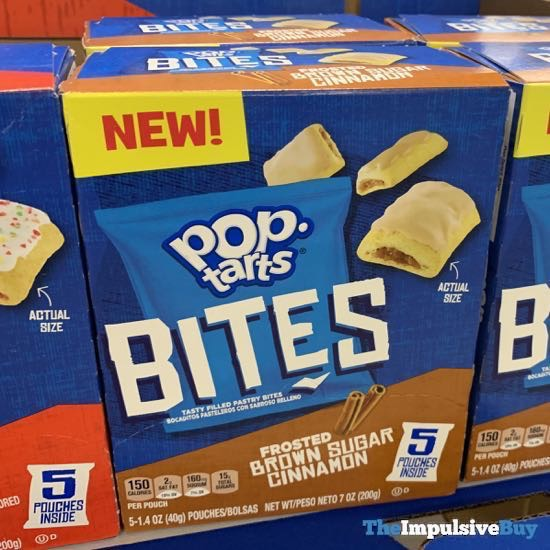 Pop Tarts Bites Frosted Brown Sugar Cinnamon