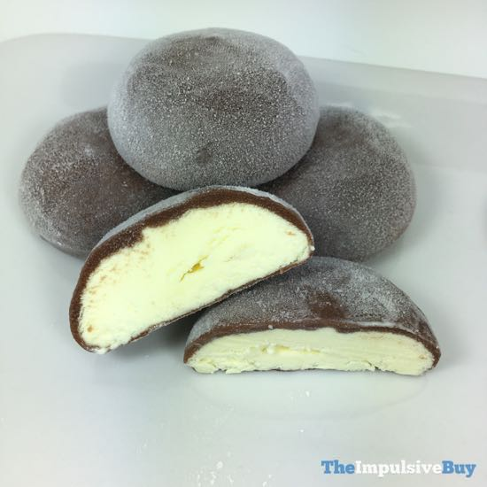 Bubbies Chocolate Egg Nog Mochi Ice Cream